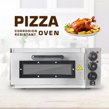 цены GZZT Single Layer Pizza Oven Deck Stone Electric Commercial Pizza Roster Oven Bakery Professional Pizza Equipment