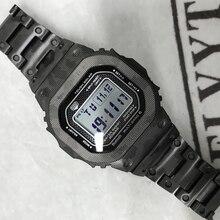 גבוהה באיכות GMW B5000 טיטניום סגסוגת Watchbands לוח עבור GMW B5000 מתכת רצועת צמיד כיסוי עם כלים 3 צבעים