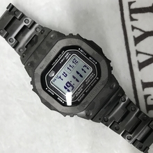 High Quality GMW B5000 Titanium Alloy Watchbands and Bezel For GMW B5000 Metal Strap Bracelet Cover With Tools 3 Colors