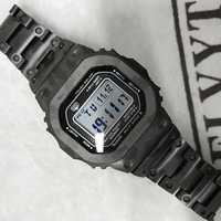 Neue Ankunft GMW-B5000 Camouflage Titan Legierung Uhrenarmbänder und Lünette GMW-B5000 Metall-Armband Edelstahl Armband Abdeckung Mit Werkzeuge