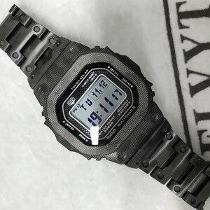 Image 1 - Yüksek kaliteli GMW B5000 titanyum alaşımlı saat kayışı ve çerçeve GMW B5000 Metal kayış bilezik kapak araçları ile 3 renk
