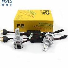 72 ワット 12000LM F2 H4 H7 H8 H11 h13 車の Led ヘッドライト電球フォグライト F2 H7 H11 H8 9005 9006 H1 880 車の Led ヘッドライトキット