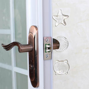Bumpers Protectors Door-Stoppers Shock-Absorber Wall Safety Security PU Starfish-Shape
