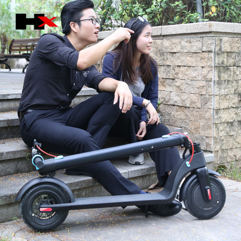 HX X7 Electric Scooter 36V 2 Wheel Electric Scooters With Removable Battery 8.5 Inch 250W Portable Folding Electric Kick Scooter (22)