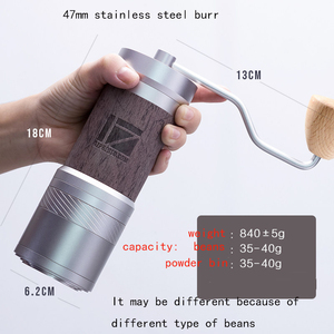 Image 2 - 1zpresso JEPLUS coffee grinder Portable manual coffee mill 47mm 304stainless steel burr adjustable