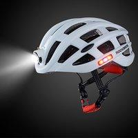 Esportes ao ar livre capacete com luz mountain bike equitação capacete de segurança para ciclismo bicicleta equitação|Capacete da bicicleta| |  -