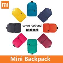 شاومي حقيبة ظهر صغيرة ملونة الترفيه الرياضة الصدر حزمة أكياس 10L صغيرة مقاوم للماء للجنسين للرجال النساء الطفل على ظهره