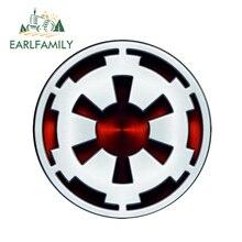 EARLFAMILY 13cmx13cm Star Wars:Episode V The Empire Strikes Back Car Stickers Window Bumper Rear Windshield Waterproof Vinyl майка борцовка print bar empire strikes back