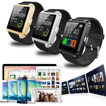 цены U8 Bluetooth Smart Watch Men Wristwatch Digital watch With Sleep Monitor Remote Camera Pedometer For IPhone Samsung Smartphone