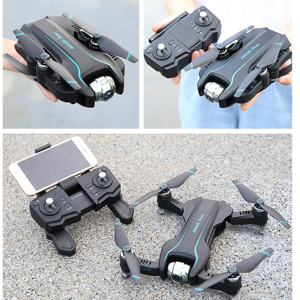 drone 4K camera HD 1080P WIFI drone FPV height maintenance quadcopter fixed-point surround RC helicopter drone camera drone S17