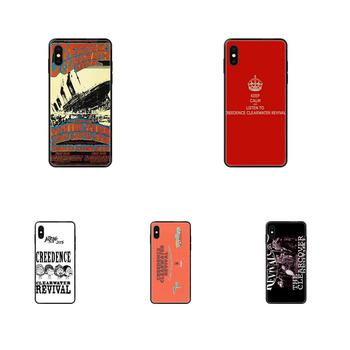 TPU Printing Creedence Clearwater Revival For Galaxy A5 A6 A7 A8 A10 A10S A20 A20S A20E A21S A30S A40 A50 A70 A71 A70E 2017 2018 image