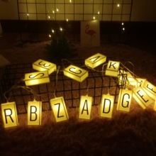 3M 20LED Light Box Chain Birthday Part  Fairy Lights String Indoor Home Bedroom Wedding Christmas Anniversary Holiday Decor