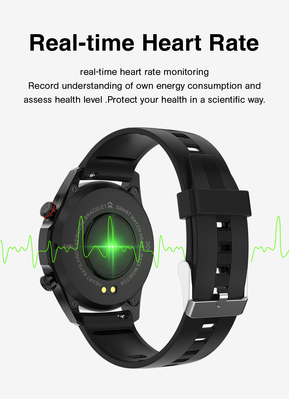 H8f3a0f09101546d3936e962732a12dd53 E1-2 Smart Watch Men Bluetooth Call Custom Dial Full Touch Screen Waterproof Smartwatch For Android IOS Sports Fitness Tracker