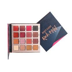 Beauty Glazed-paleta de sombra de ojos perlada, 16 colores, maquillaje cosmético de belleza TSLM1
