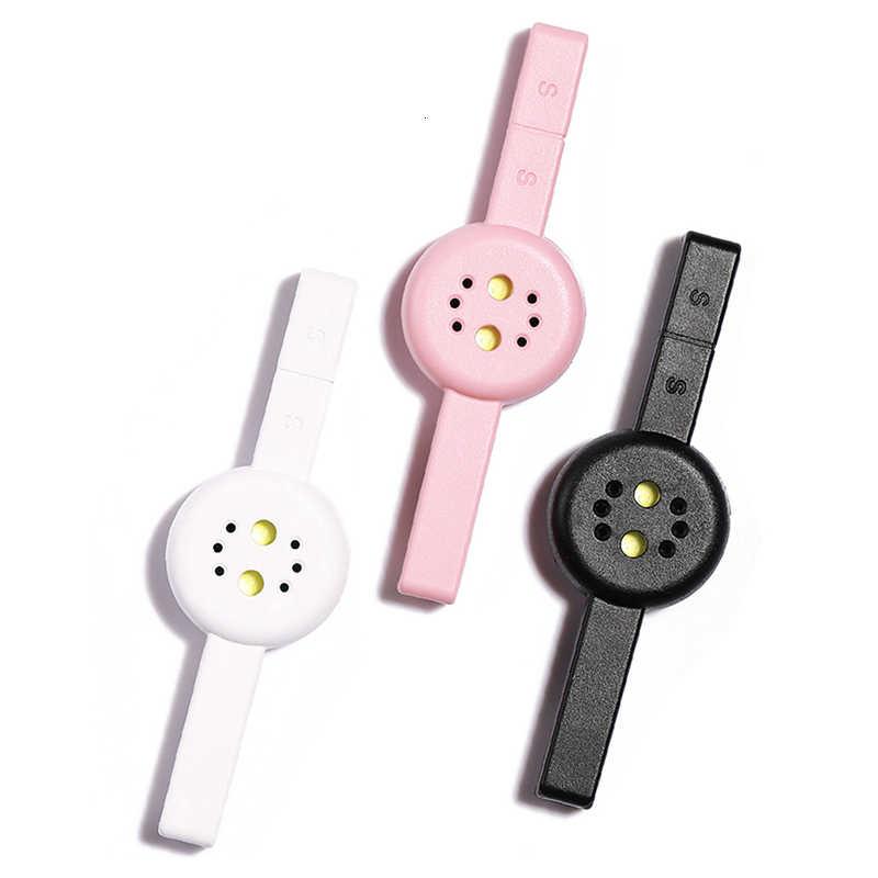 2 en 1 3W secador de uñas magnético ojo de gato Mini lámpara LED UV Cable USB curado negro blanco uñas arte accesorios de imanes Gel herramienta