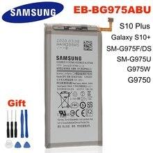 SAMSUNG orijinal EB-BG975ABU 4100mAh pil Samsung Galaxy S10 artı S10 + SM-G975F/DS SM-G975U/W G9750 cep telefonu + araçları