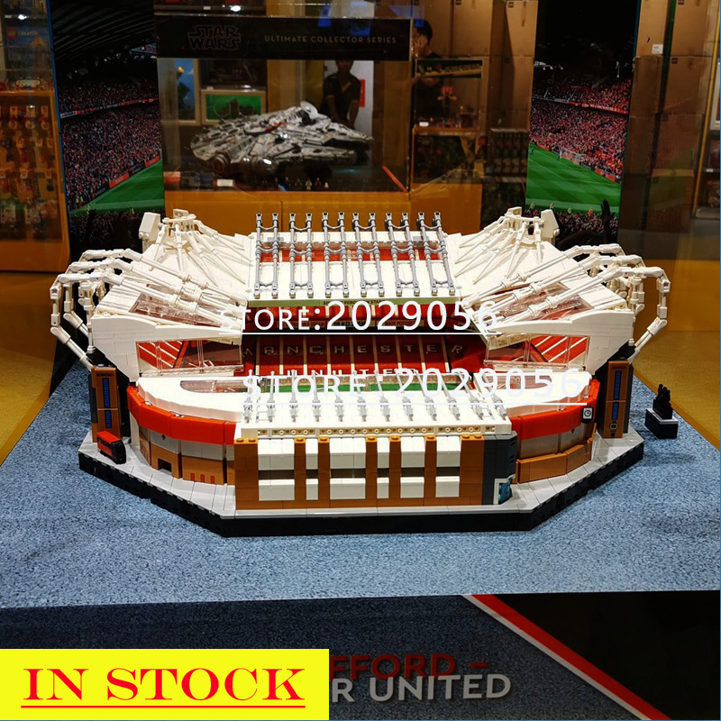 In Stock Old Trafford - Manchester United Legends Stadium Ideas Series 10272 Building Blocks 3908PCS City Creator Street View