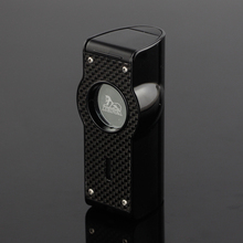 LUBINSKI Butane Gas Lighter Portable Cigarette Lighter Metal Windproof Cigar Lighter Refillable Cigar Accessory excellent quality new military lighter watch men quartz refillable butane gas cigar watches special designed free shipping