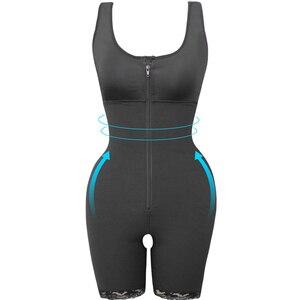 Image 5 - Kadın ince iç çamaşırı tek parça Bodysuit Shapewear bayan Underbust vücut şekillendirme iç çamaşırı artı boyutu bel eğitmen Butt kaldırıcı kalça