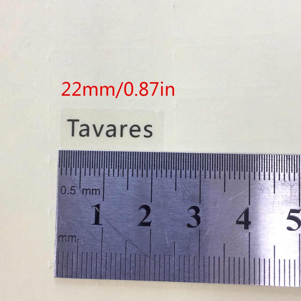 168 adet 22x9mm şeffaf kişiselleştirilmiş adı etiketleri özelleştirmek su geçirmez etiketleri etiketleri çocuklar için karalama defteri okul kırtasiye