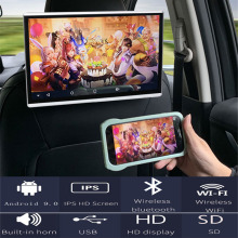Monitor Car-Wifi-Headrest Mirroring/miracast Touch-Screen Android HD with 2g-Ram 16GB-ROM