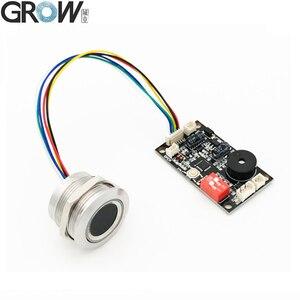 Image 1 - GROW K200 3.3+R503 Two Color Ring Indicator Light Door Access Control Capacitive Fingerprint Access Control Board