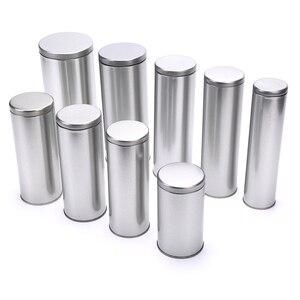 1 шт. Алюминий травы тайник металлическим герметичным может Чай хранения герметичной ёмкости