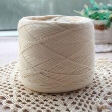 250 g/stk Wit Niet Gebleekte Originele Ecologie Gezonde Katoen Gebreide Garen Baby Natuurlijke Zachte Garen voor Haken Breien