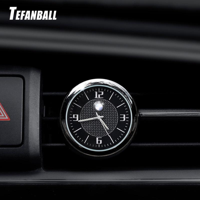 Для BMW, Audi, Volkswagen, Mercedes, Honda, Ford, Toyota, Peugeot, автомобильные часы, светящийся стол, ремонт интерьера, кварцевые часы, Автомобильные украшения