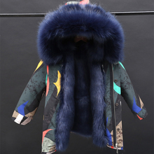Jacket-Coats Padded Parka Faux-Fur Boy-30-Degreerussian Kids Children Camouflage Girls Fur