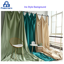Powerwin New 1.5x1/1.5x2/1.5x3m Ins Instagram Style Polyester Cotton Background Backdrop Cloth Photo Studio Photography Curtain