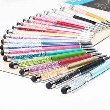 Ballpoint Pens Refill Crystal-Pen Diamond Stationery Black 11-Colors 1pcs Oily Sell Creative