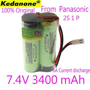 Kedanone 7.4 V / 8.4 V 100% Original 18650 lithium battery 3400 mA Rechargeable battery pack megaphone speaker protection board