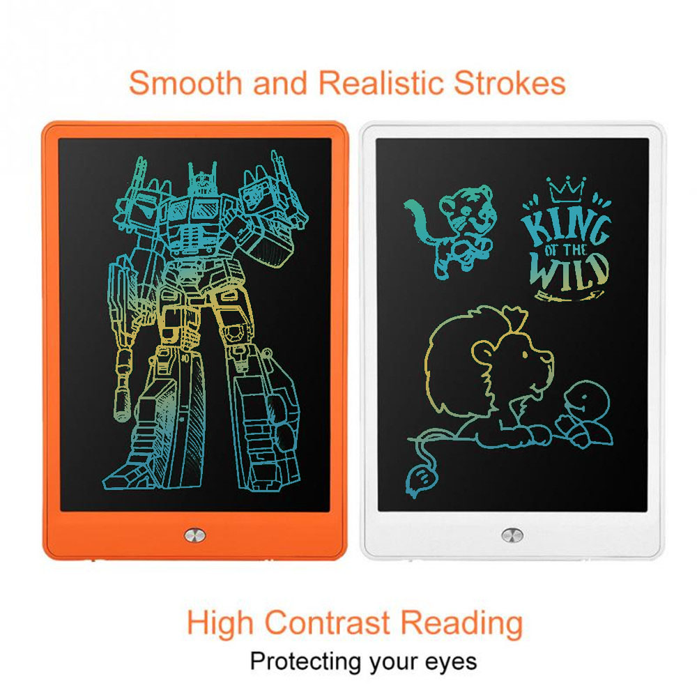 High bright 10'' Digital Writing Tablet Toys colorful LED Graphic Drawing Tablets Paint Board Electronic Handwriting Notepad um