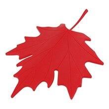 Красный пластиковый кленовый лист стиль домашний декоративный ограничитель открывания двери дверной стоп