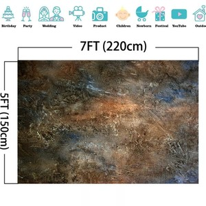 Image 5 - Laeacco gradiente cor backdrops padrão abstrato textura de mármore grunge vintage fotografia fundos retro retrato photozone