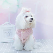 Роскошная Одежда для щенков из кроличьей шерсти осенне зимнее