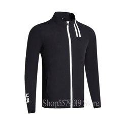 Primavera nueva delgada manga larga Golf rompevientos Full Golf ropa S-XXL en la elección ocio hombres Golf chaqueta envío gratis