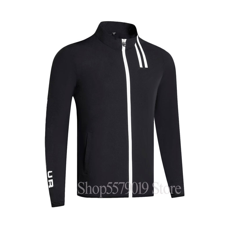 Spring New Thin  Long Sleeve Golf Windbreaker Full Golf Clothes S-XXL In Choice Leisure Men Golf Jacket Free Shipping