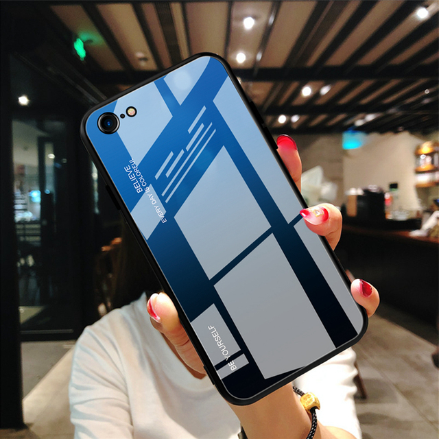Hard Gradient Glass Case for iPhone 12/12 Max/12 Pro/12 Pro Max 4