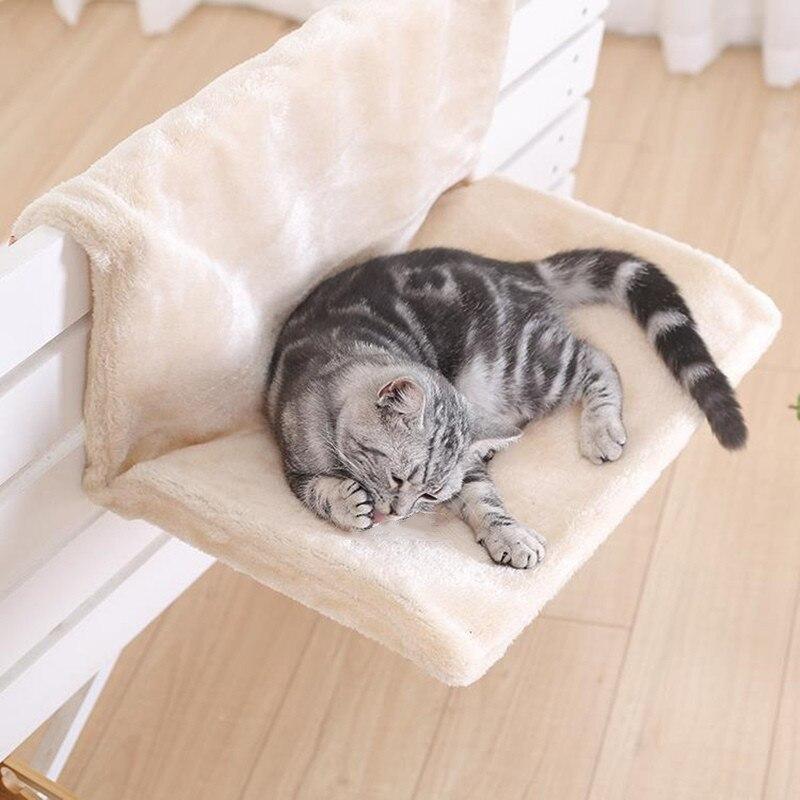 2  Lit pour chat rebord de fenêtre amovible
