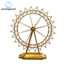 Strongwell Ferris Wheel Figurine Iron Crafts Vintage Home Decor Desktop Home Decoration Accessories Creative Couple Gift roogo sweet wedding home decoration accessories resin bridegroom and bride figurine gift for couple family desktop ornament