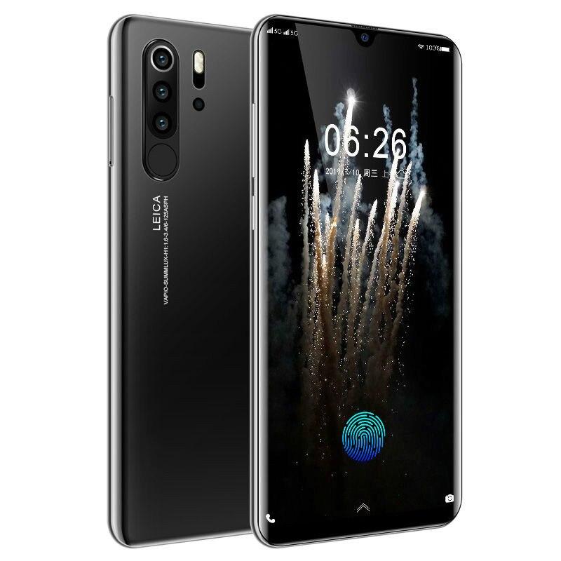 BADIDEAR P30 Pro Smartphone Android 4G Net European Asian Cellphones 6.3 Inch Dual Sim Unlocked Mobile Phone Water Drop Screen