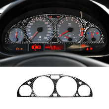 For BMW E46 M3 1998-2005 Instrument Panel Trim Replacement Cover Car Interior Wear resistance Reliable for bmw e46 1998 2005 left hand drive interior carbon fiber gearshift panel panel cover sticker 3pcs refitting accessories