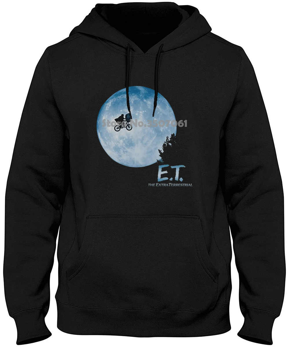 Short Sleeves Cotton E.t. Flying Bicycle Across The Moon & Hoodies & Sweatshirts
