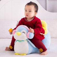 Colorful Baby Sofa Cover Washable Infant Baby Sofa Cover Learn to Sit Feeding Chair Soft Seat Case Plush Toys(China)