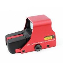 Lunette de visée holographique à points rouges 551, accessoires de chasse Airsoft, collimateur monté sur Rail, Glock Sight