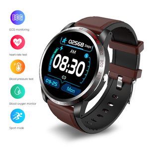 Image 2 - EKUPUZ ECG Smart Watch GPS Bluetooth Fitness Tracker Blood Pressure Heart Rate Monitor Call Reminder Message Push Smartwatch