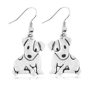 Dog Pendant Necklaces Set 4