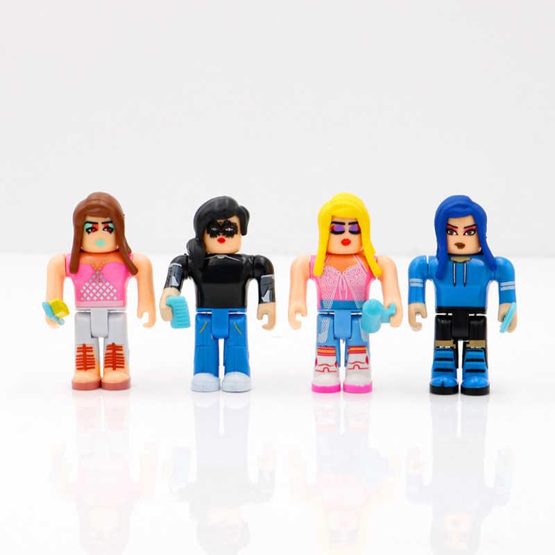 ROBLOX moda salonu bebek 7cm PVC paketi bebek Boys oyuncaklar modeli figürler koleksiyonu için çocuklar için noel hediyeleri
